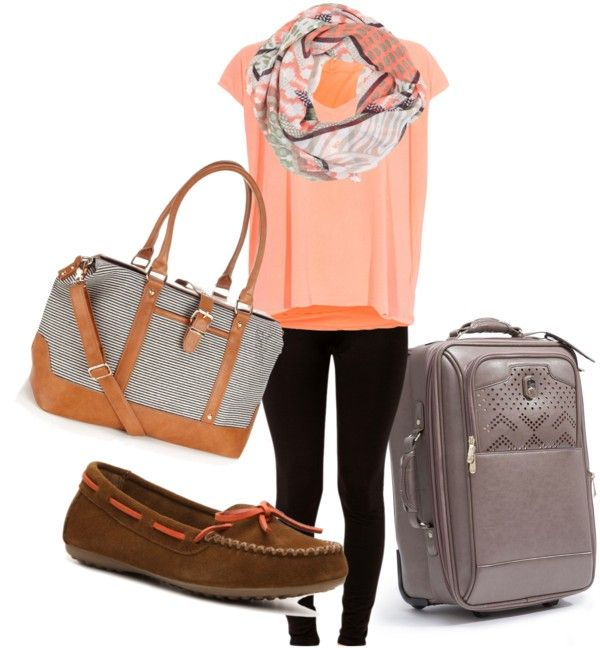 """""""plane ride outfit"""" by april-schaefer ❤ liked on Polyvore"""
