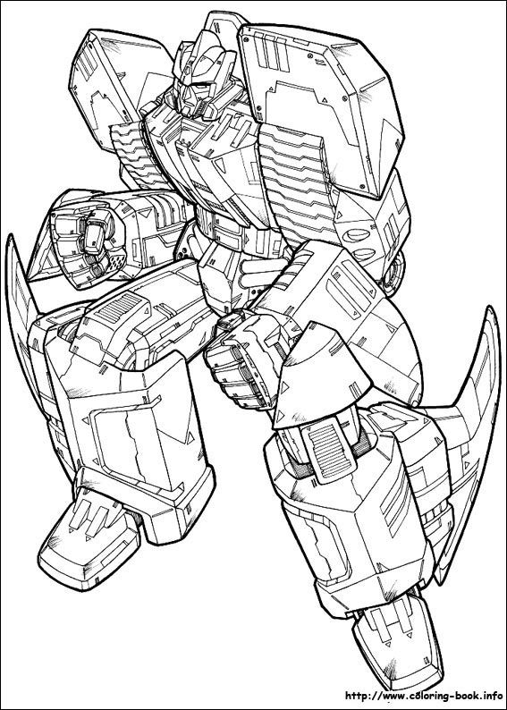 transformers coloring pages