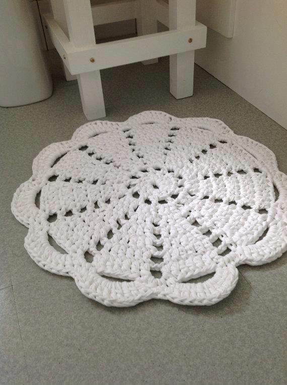 Alfombra Trapillo. Lace carpet