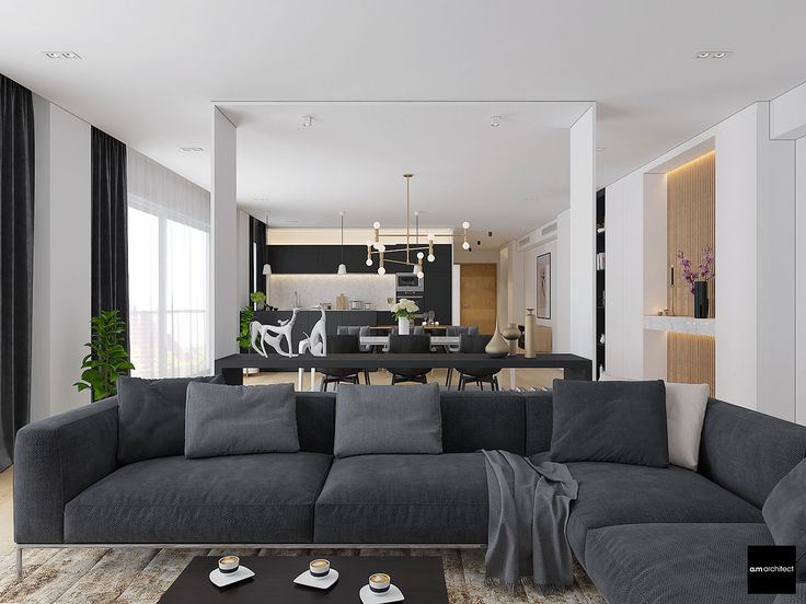 Two Modern Minimalist Apartments With Subtle Luxurious Details