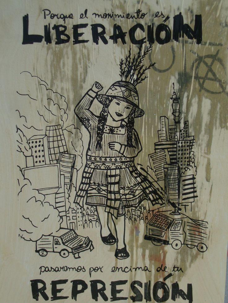Porque el movimiento es liberación. Santiago de Chile, Romería al Cementerio General, 8 de sept. de 2013. A 40 años del golpe.