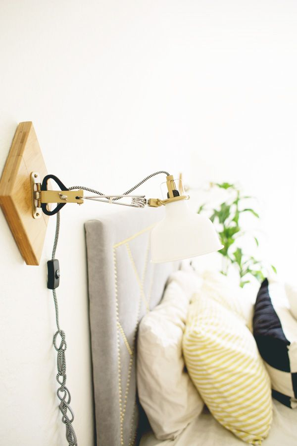 how to make a wall sconce light