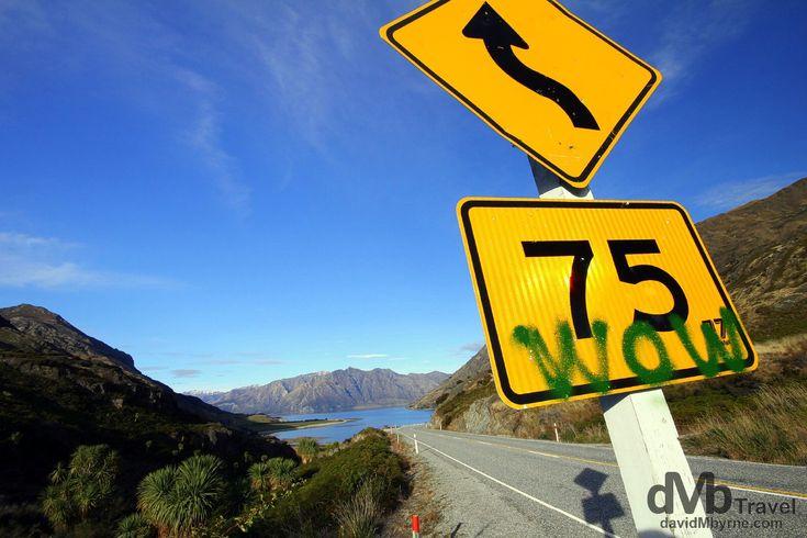Lake Hawea, Otago, South Island, New Zealand | dMb Travel - Travel with davidMbyrne.com