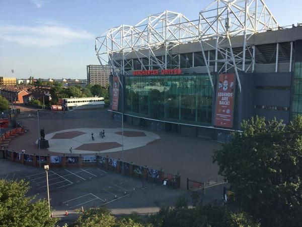 Marshalls Block Paving @ MUFC Old Trafford