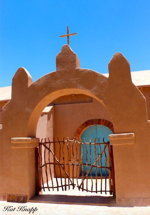 The gorgeous church of San Pedro in the Atacama desert