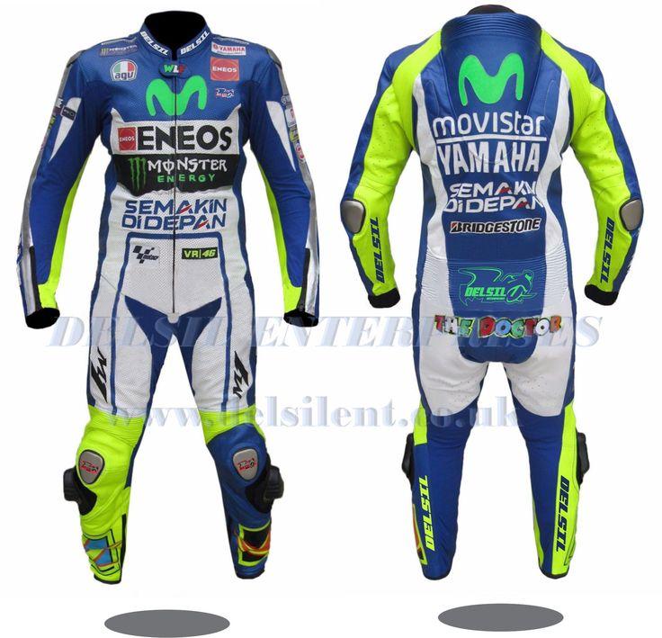 Valentino Rossi VR46 motorbike leather racing suit 2015. #delsilent #DELSIL #valentinorossi #valentinorossi46 #valentinorossifans #vr46 #motorbikesuits #motorbikes #leather #leatherjacket #leatherracingsuits #motogp #menwear #motorbikeracing #cowhide #leathersuit #motogp2017 #racingwear #racinggear For more details visit www.delsilent.co.uk or inbox at delsilent2015@gmail.com or Whats app & Viber @ 0092-307-6111465