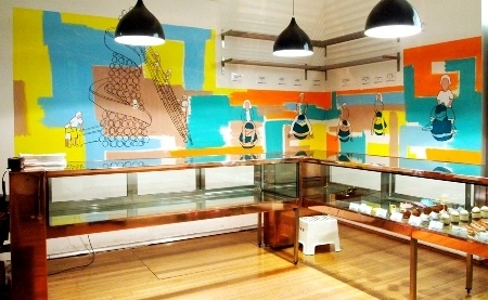 Adriano Zumbo Cafe Manly – Mural June 2011