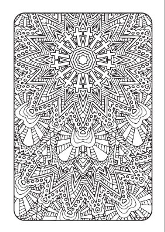 Art Therapy - Printable Adult Coloring Book | Downloadable ...