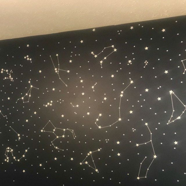 Constellation Stickers Constellation Decals Astronomy Wall Art Constellation Star Map Night Sky Constellations Zodiac Wall Art Virgo In 2020 Constellation Wall Decal Constellation Decal Star Wars Kids Room