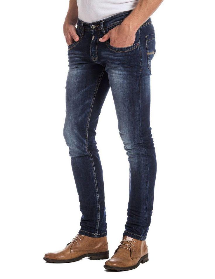 TIMEZONE Jeans »EdoTZ « für 39,95€. Herren Jeans sehr schmal geschnitten, modische Jeans von TIMEZONE slim fit, Gesäßtaschen mit aufwendiger Ziersteppung bei OTTO