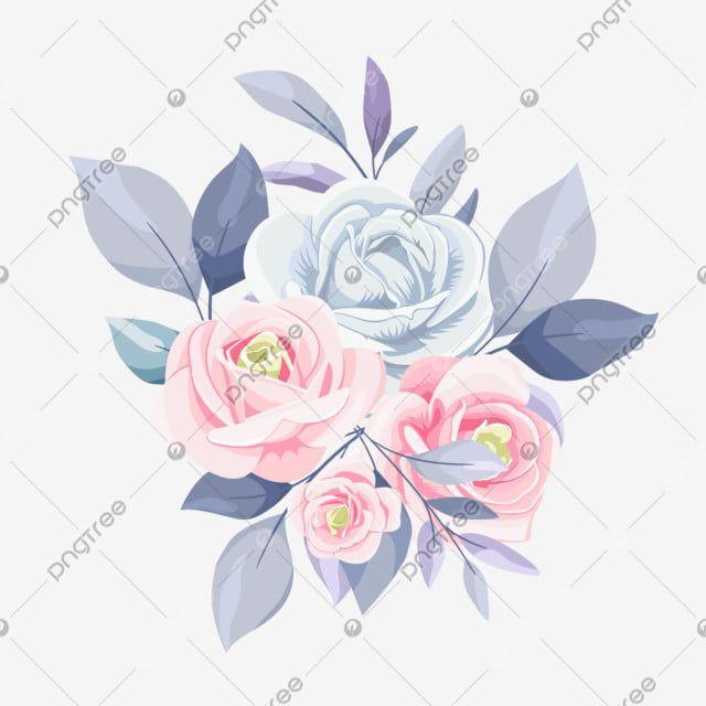 زهرة مائية أنيقة زهرة حفل زواج عتيق Png وملف Psd للتحميل مجانا Watercolor Flowers Flowers Watercolor