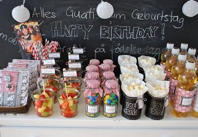 Endlich ist es soweit – das langersehnte Geburtstagsfest ist in vollem Gange