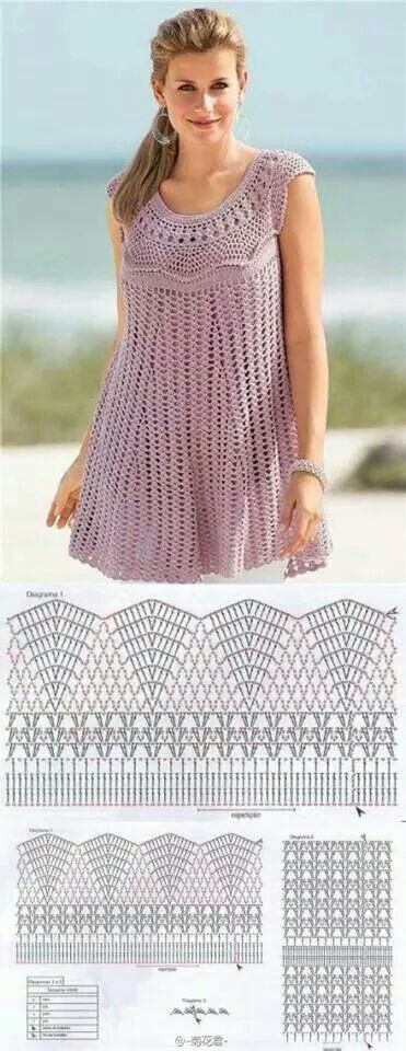 Crochet pattern for women