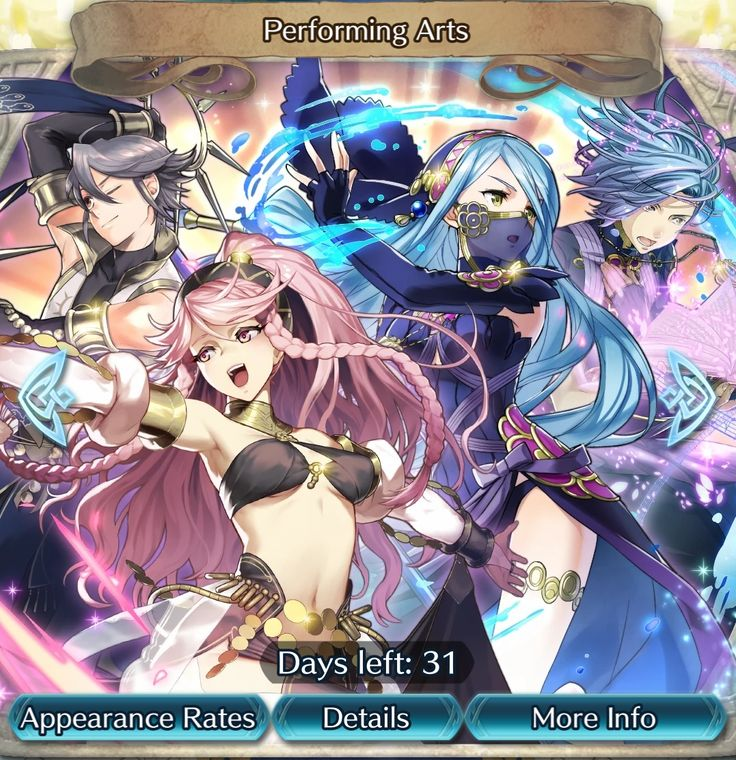 Fire Emblem Heroes - content update for September 29   - new Summoning Focus is now live: ''Performing Arts''. It features a special version of the following Heroes: Olivia Inigo Azura and Shigure (available until October 30) - new Paralogue Story is now available: ''Performing Arts''. It includes the following maps: A Heartfelt Dance A Bittersweet Memory and The Finale (no end date) - to celebrate the latest Summoning Focus players can get some Orbs as Log-in Bonus with the amount varying…