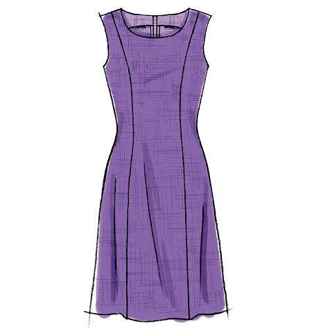 M6920 | Misses'/Miss Petite/Women's/Women's Petite Dresses | New Sewing Patterns | McCall's Patterns