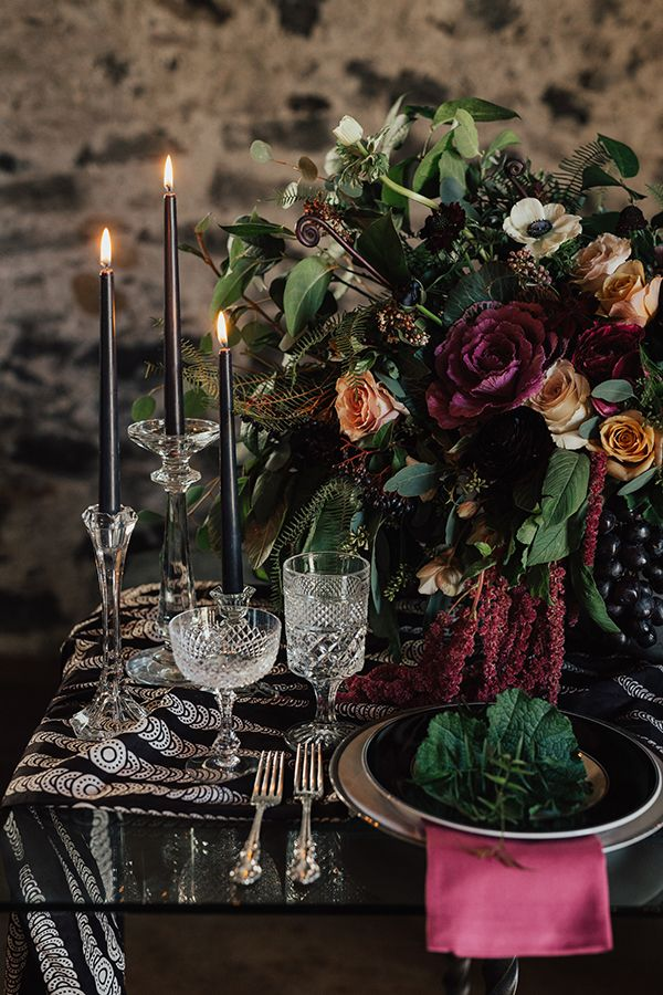 Fall in Love with the Florals and Design in This Bold Wedding Inspiration