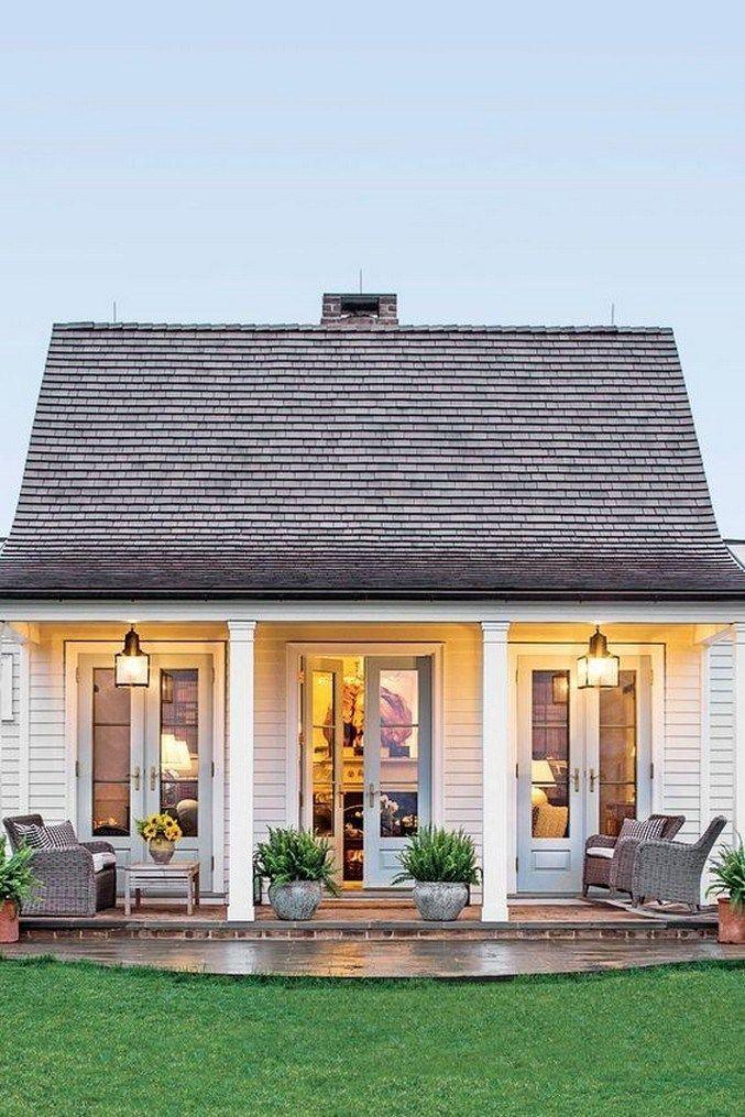 28 Inspiring Farmhouse House Design 21 Fieltro Net Small Cottages House Exterior Cottage Homes