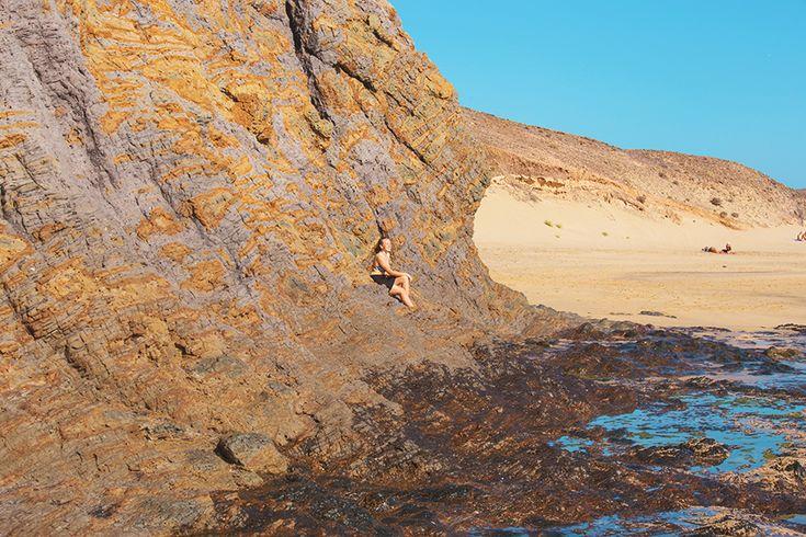 Chiara Magi - Traveling in Lanzarote - Playa Mujeres