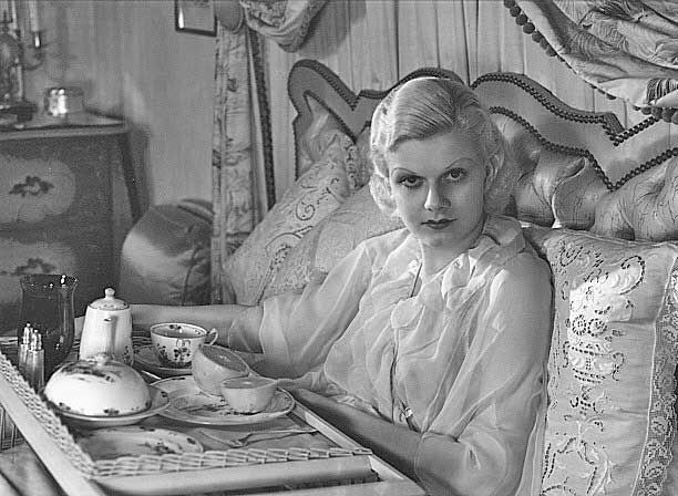 Breakfast With Jean Harlow Hollywood Boudoir Pinterest