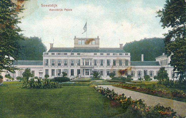 Vintage Postcard - Soestdijk Koninklijk Paleis