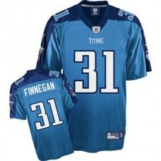 Titans #31 Cortland Finnegan Stitched Baby Blue NFL Jersey