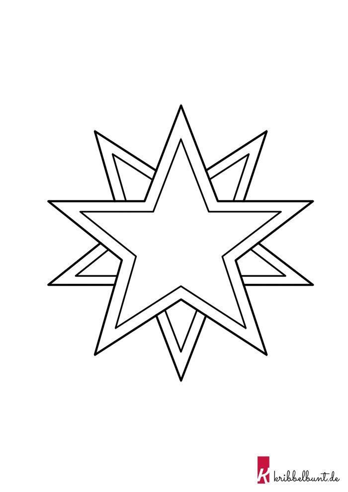 stern vorlage  sterne basteln vorlage bastelvorlagen