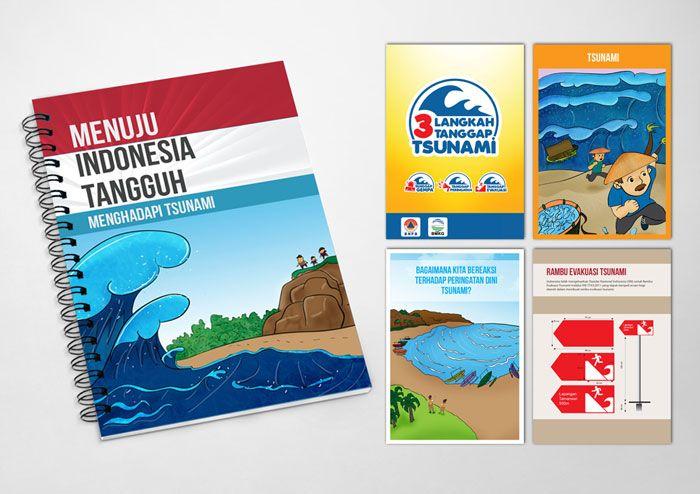 Program Dissemination Tools for disaster preparedness - Note Book. Client: BNPB