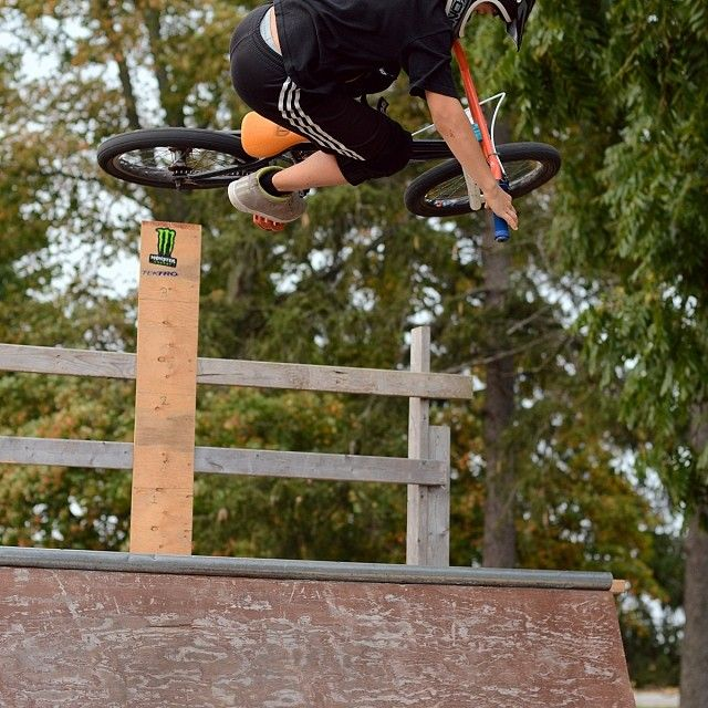 It's amazing how good young BMX kids are getting these days. Here is a 4 foot air from a ten year old. Instagram photo by @bmxgroms (BMX Groms)