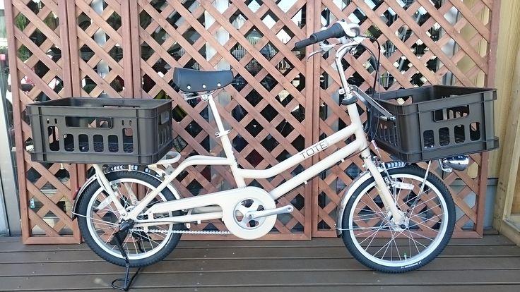 TOTE BOX SMALL オプション装着車   普通自転車   商品   仲輪業 ~東村山市の自転車屋さんのWebサイト~