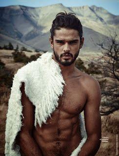 Marlon Teixeira para L'Officiel Hommes Brasil por Nicole Heiniger
