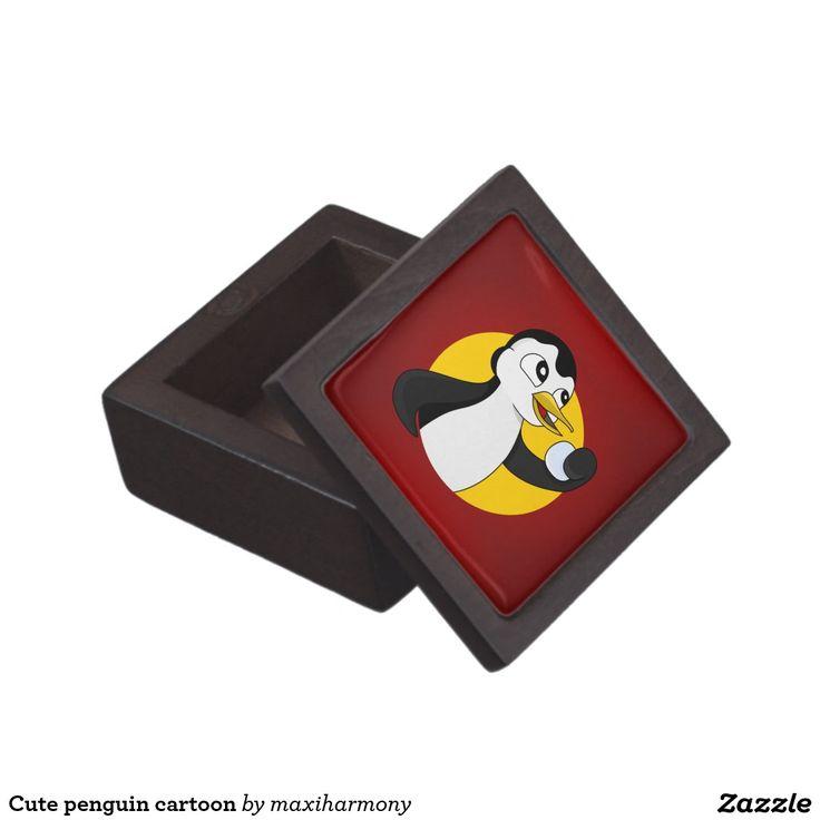 Cute penguin cartoon premium gift boxes