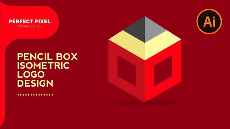 Illustrator Tutorials | Isometric Pencil Box