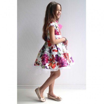 Multi-Floral Dress http://www.alexandalexa.com/innocence-multi-floral-cotton-dress