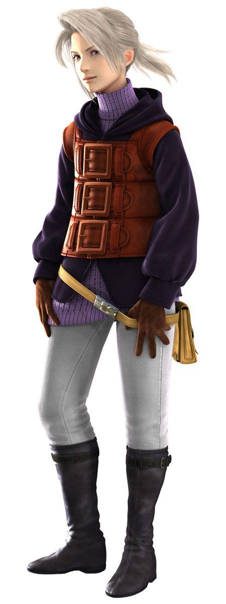 Final Fantasy III (DS) -  Luneth