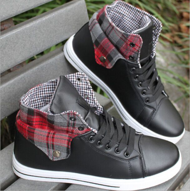 Fashion Men's casual shoes High-top sport shoes Athletic Sneakers  #New #FashionSneakers