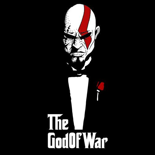 The God of War and Death – Pop Up Tee
