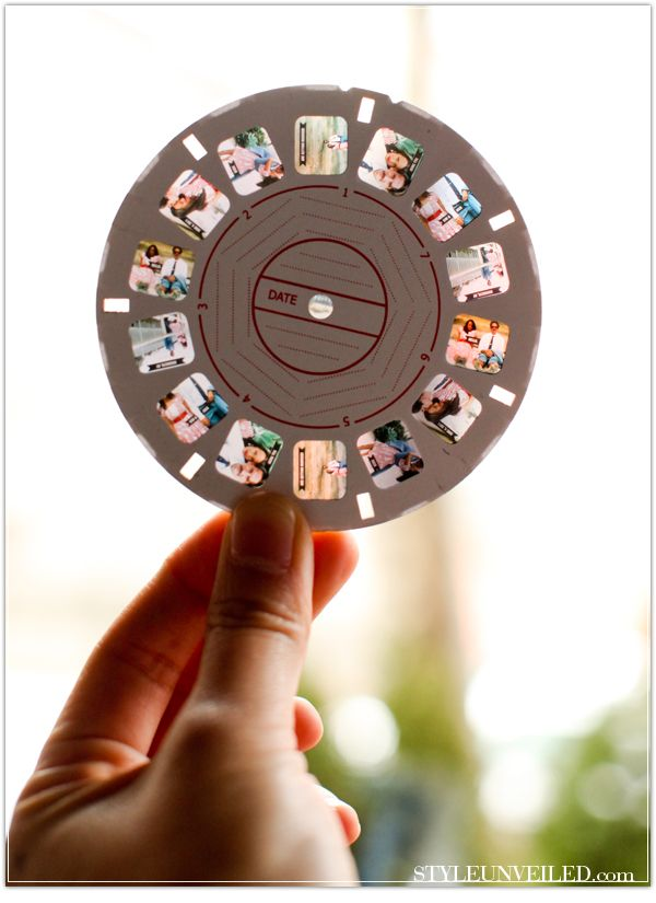 Put your photos into a View Master slide!
