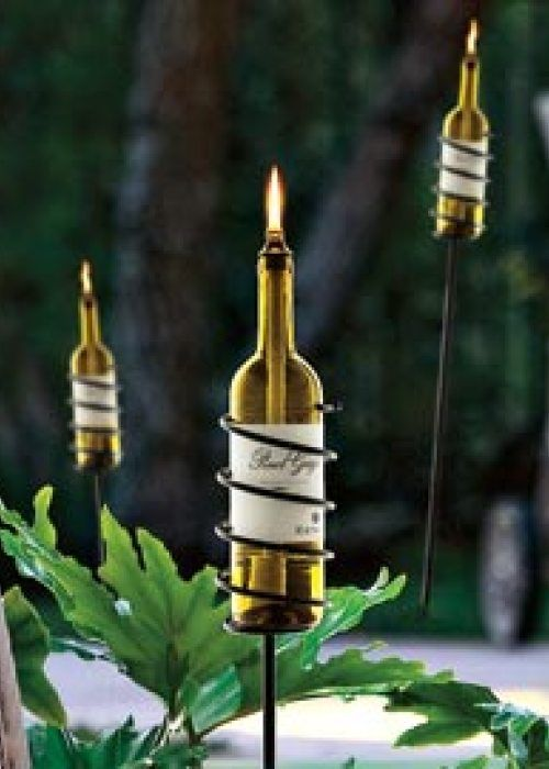To Drink or Not to Drink? Wine Bottle Upcycling |