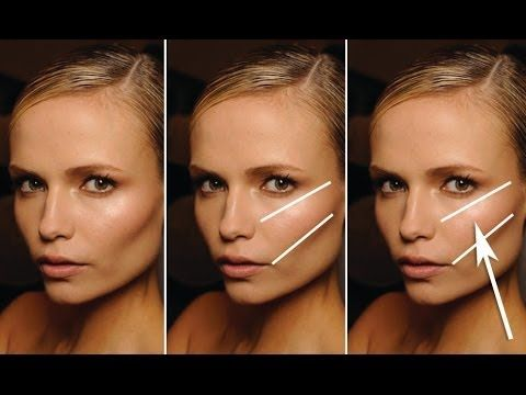 STEP BY STEP GUIDE TO FINDING YOUR CHEEK BONES! - Where to apply blush and highlighter.