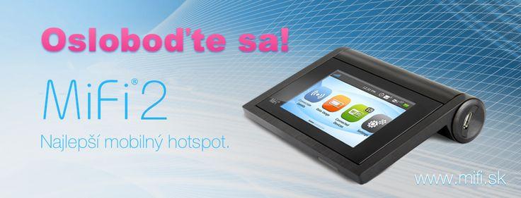 MiFi 2 je nový inteligentný mobilný HotSpot, ktorý Vám poskytne prístup na internet rýchlosťou až 42Mbps u nás alebo vo viac ako 150 krajinách. Na Hotspot (Wifi b/g/n) môžete pripojiť až 10 zariadení (notebooky, tablety, smartfóny...) nech Ste kdekoľvek.