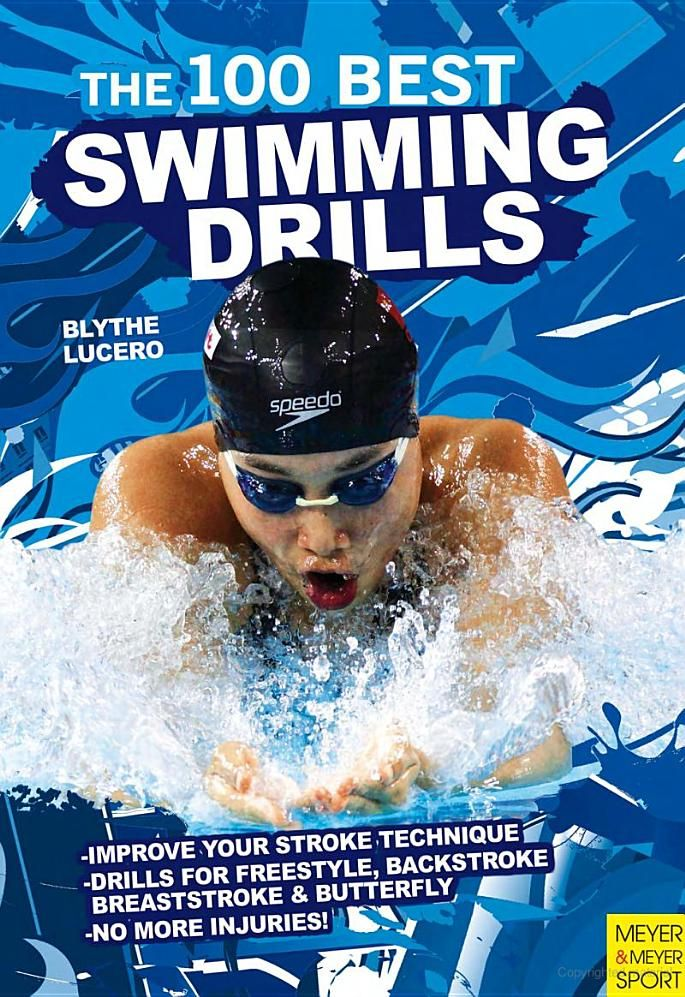 Great swim drills. This website even has a chart for which drill is best for you.
