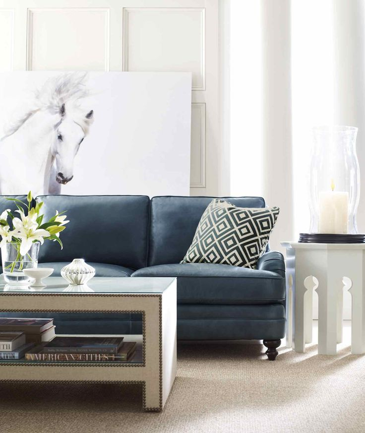 39 Best Images About Navy Sofa On Pinterest Sectional