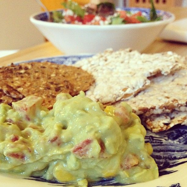 Creamy Guacamole: Mix in Greek yogurt with your guacamole and you'll ...