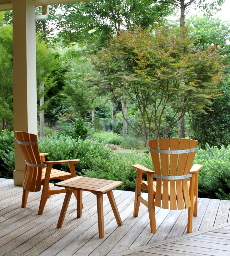 Wonderful Outdoor Furniture Asheville Nc Part   4: Brian Boggs Outdoor Wood Patio  Furniture Feature