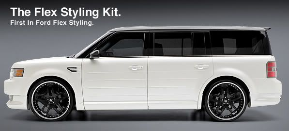 Ford Flex Custom Accessories | All kit components are manufactured in flexible high pressure injected ...