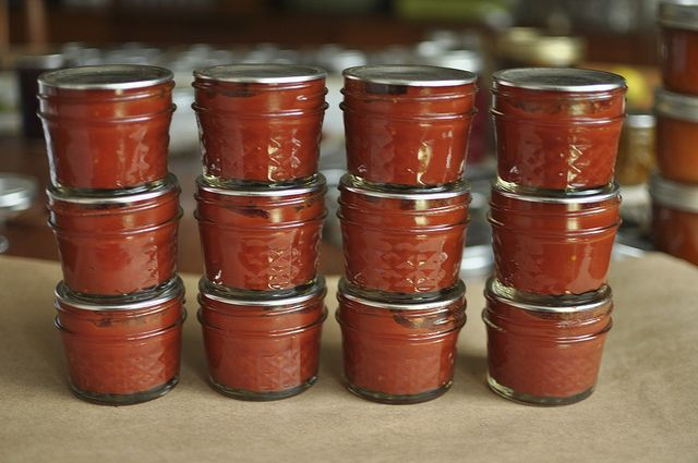 Homemade tomato paste from scratch: someday when I have that overabundance of tomatoes I keep hoping for...