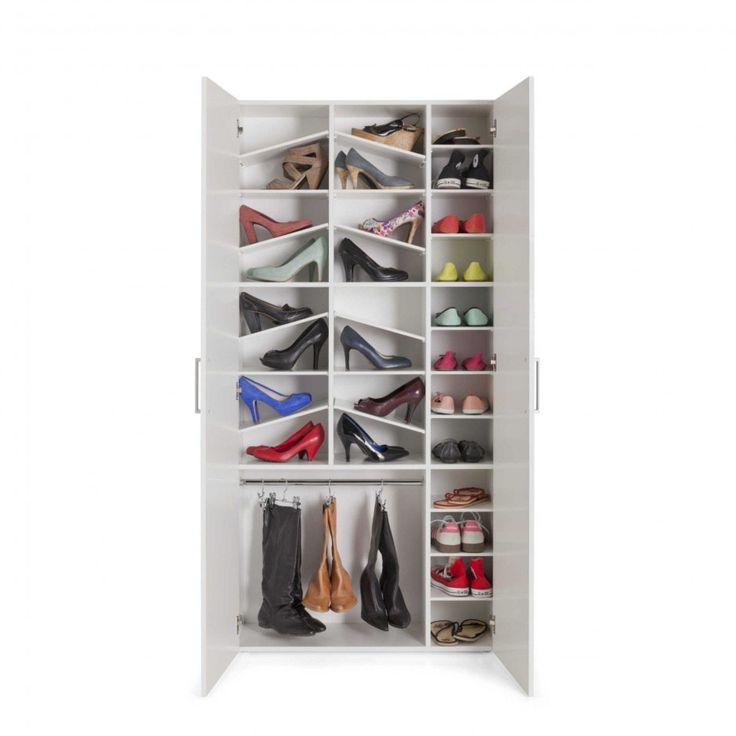 schuhschrank ragazza wei lack folie g nstig bei. Black Bedroom Furniture Sets. Home Design Ideas