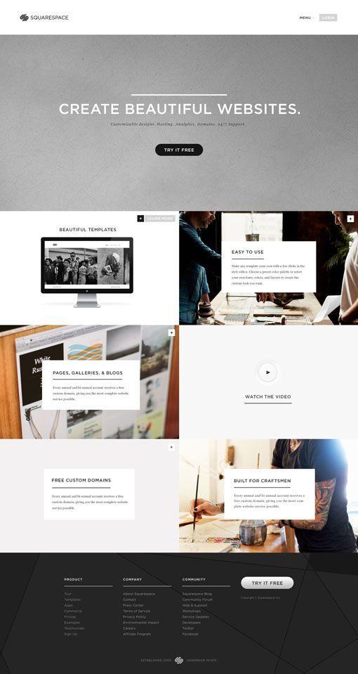 10 best squarespace tips images on pinterest design websites site design and website builders. Black Bedroom Furniture Sets. Home Design Ideas
