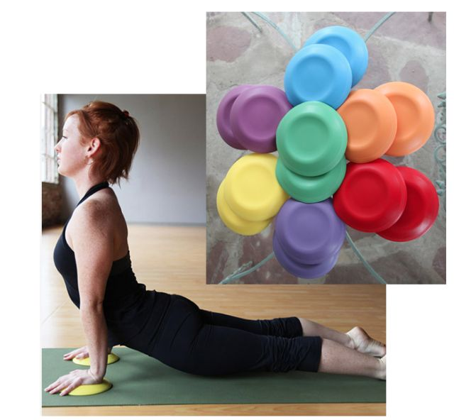 YogaJellies - Wrist and knee support while practicing yoga.
