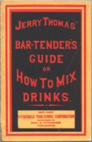 This bartender's guide from 1862 contains dozens of recipes for classic pre-Prohibition era cocktails.